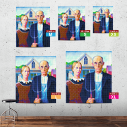 American Gothic in-situ XS to XL