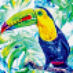 Tableau Tropical Toucan