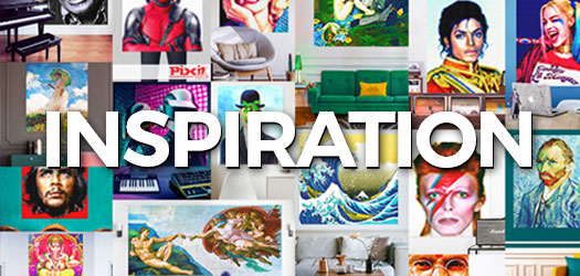 Looking for inspiration for your interior design? Come and discover the colourful world of PIXITlab. The possibilities are endless so get started !
