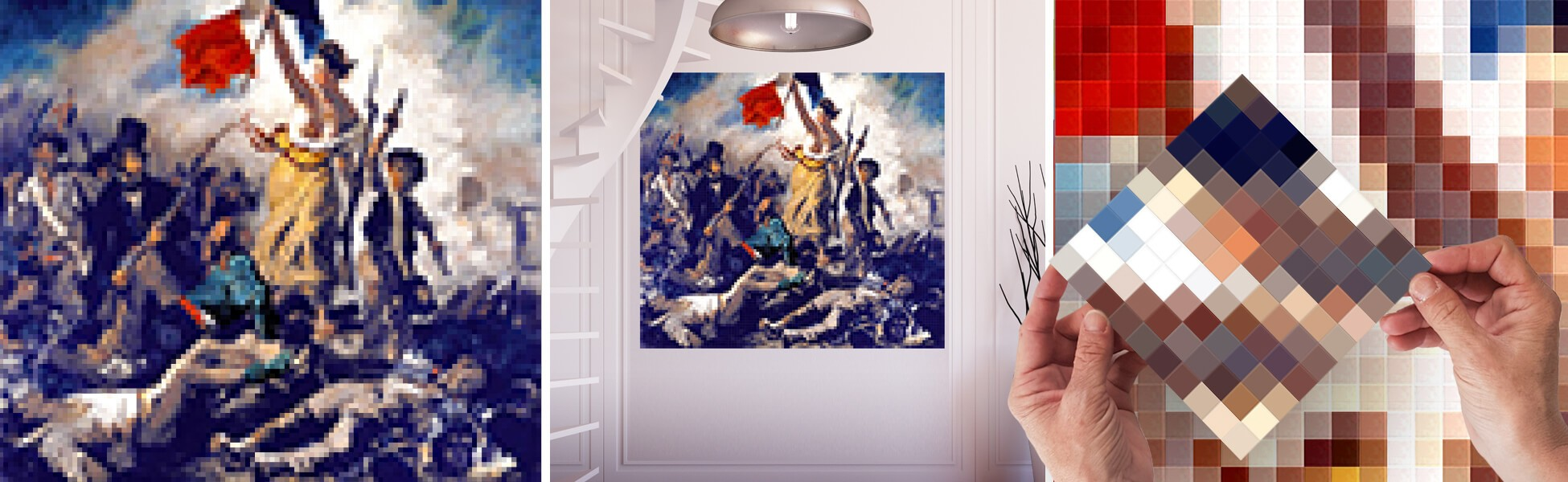 "Choose a ""SO FRENCHY"" atmosphere with this artwork with a taste of freedom !"